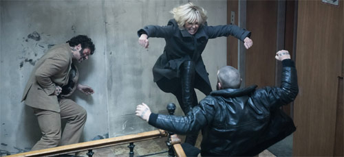 Atomic Blonde mit Charlize Theron in Action