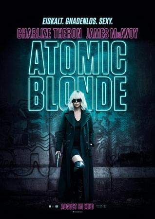 Atomic Blonde Charlize Theron Plakat