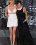 Charlize Theron und Sofia Boutella bei der Atomic Blonde Weltpremiere