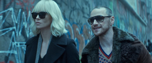 Atomic Blonde mit Charlize Theron und James McAvoy