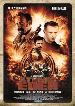 Atomic Eden von Nico Sentner deutsches Cover