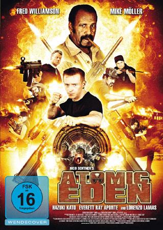 DVD Cover von Atomic Eden