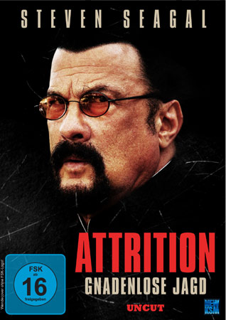 Attrition mit Steven Seagal deutsches DVD Cover
