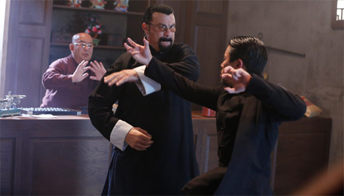 "Steven Seagal gegen Cha-Lee Yoon in ""Attrition"""