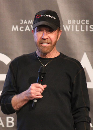 Chuck Norris Comic Con Dortmund 2018