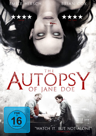 The Autopsy of Jane Doe DVD Cover