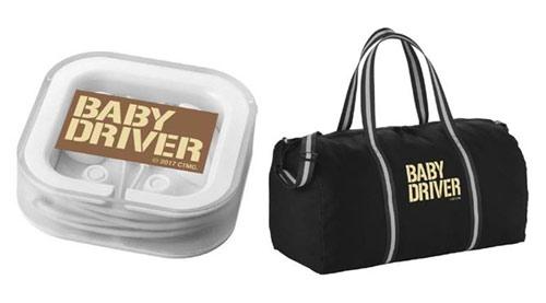Baby Driver Gewinnspielpreise