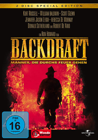 Backdraft DVD Cover Deutschland
