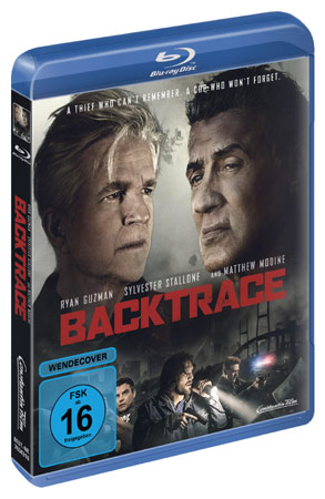 Backtrace mit Sylvester Stallone Blu-ray-Cover