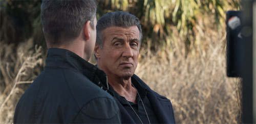 Backtrace mit Sylvester Stallone als Cop