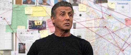 Backtrace mit Sylvester Stallone als Cop