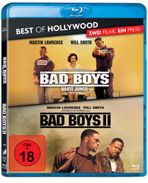 Bad Boys 1 und 2 Blu-ray-Box