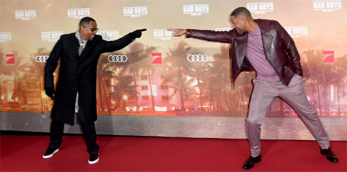 Bad Boys For Life Premiere mit Martin Lawrence und Will Smith