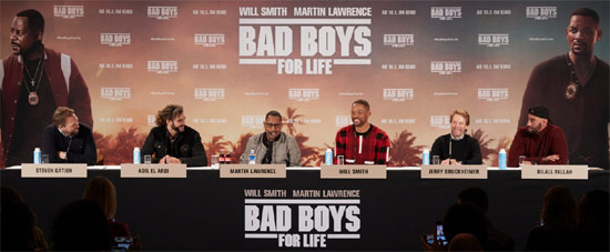Bad Boys For Life Pressekonferenz in Berlin