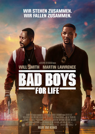 Bad Boys For Life Poster mit Will Smith und Martin Lawrence