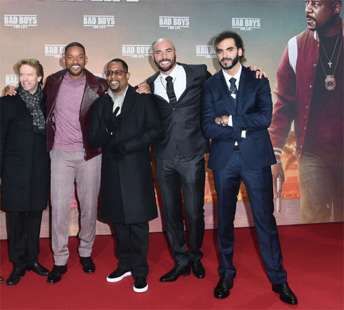 Bad Boys For Life Premiere in Berlin mit Will Smith und Martin Lawrence