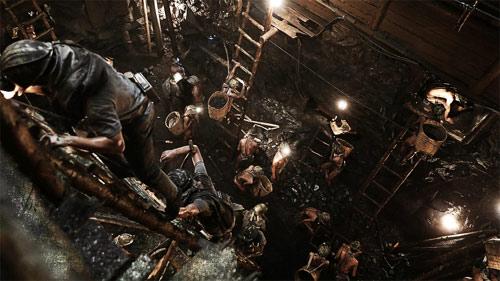 Eine Mine in einem Kilometer Tiefe