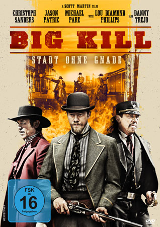 Big Kill - Stadt ohne Gnade DVD Cover