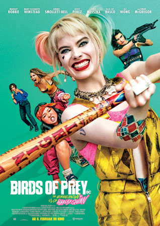 Birds of Prey: The Emancipation of Harley Quinn Kinoplakat