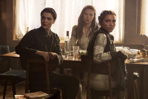 Familienzusammenführung im neuen Marvel-Film mit Rachel Weisz, Florence Pugh und Scarlett Johansson