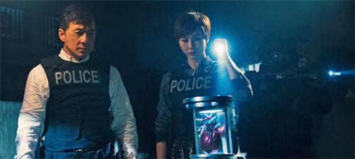 Bleeding Steel mit Jackie Chan und Erica Xia-Hou