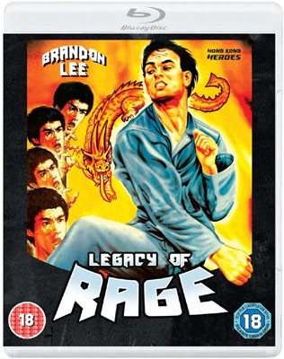 Born Hero aka Legacy of Rage mit Brandon Lee DVD Cover