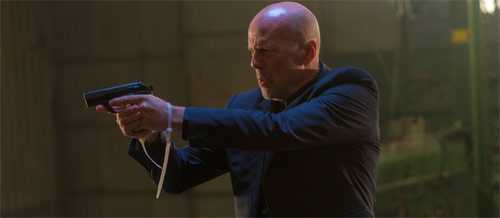 Bruce Willis in Extraction