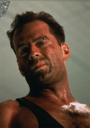 Bruce Willis als John McClane in Stirb Langsam