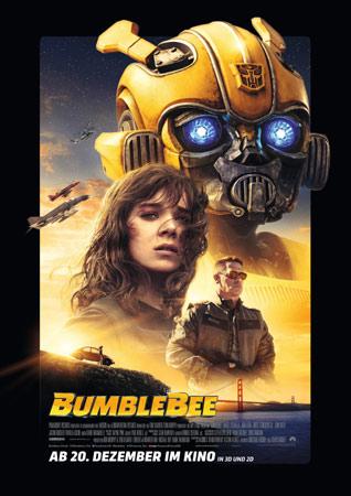 Bumblebee deutsches Kinoplakat