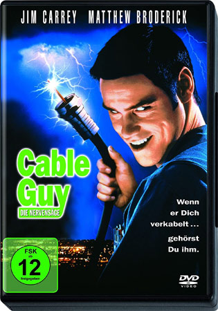 Cable Guy DVD Cover vom Jim Carrey Film