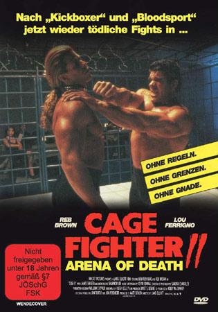 Cage Fighter 2 DVD Cover mit Lou Ferrigno