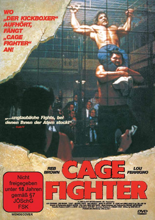 Cage Fighter mit Lou Ferrigno deutsches DVD Cover