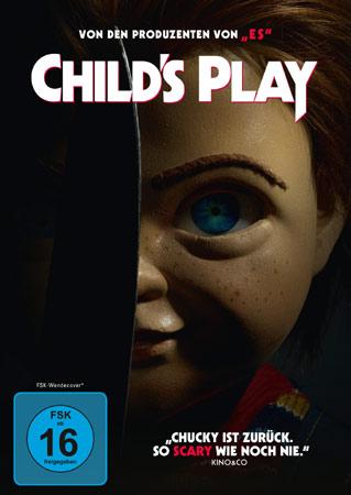 Child's Play mit Chucky auf deutschem DVD-Cover