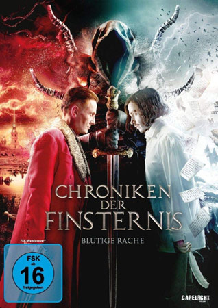 Chroniken der Finsternis – Blutige Rache DVD Cover