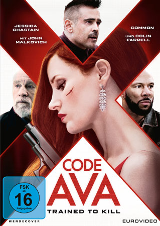 Code Ava - Trained to kill DVD Cover