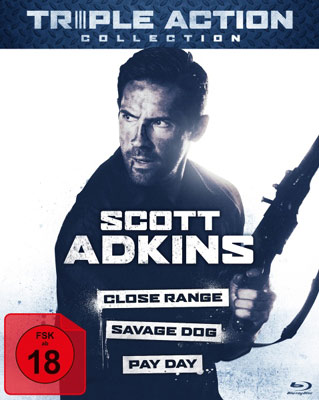 Scott Adkins Triple Action Collection