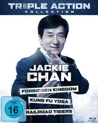Jackie Chan Triple Action Collection