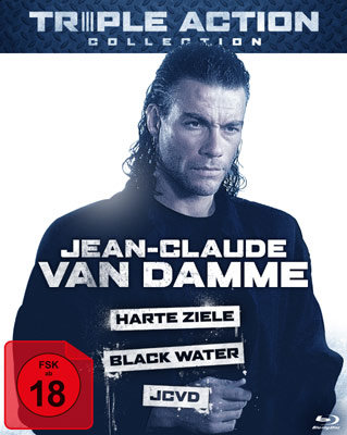 Jean-Claude Van Damme Triple Action Collection.