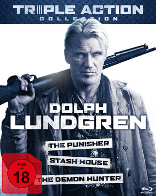 Dolph Lundgren Triple Action Collection