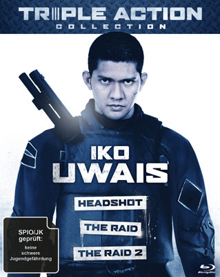 Iko Uwais Triple Action Collection
