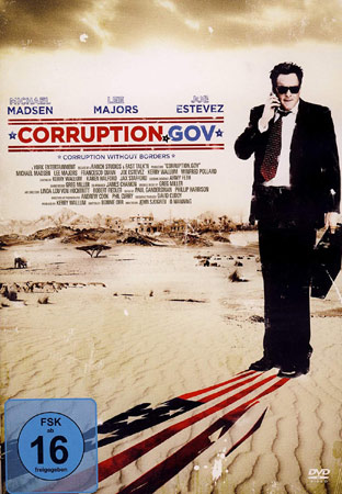 Corruption.Gov mit Michael Madsen DVD Cover