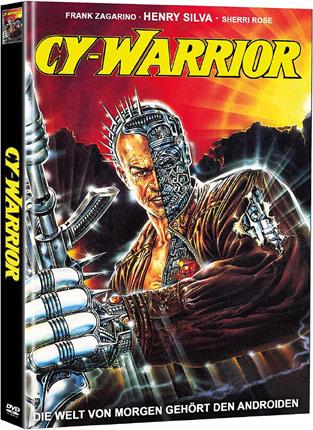 Cy-Warrior mit Frank Zagarino Cover