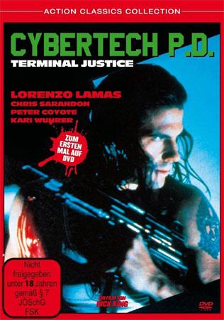 Cybertech P.D. DVD Cover