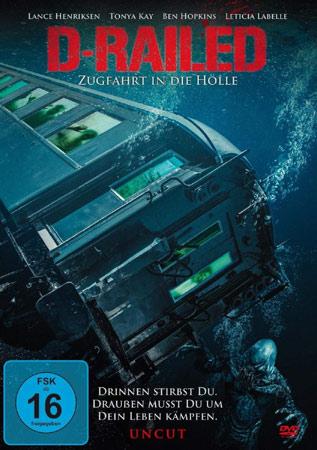 D-Railed mit Lance Henriksen DVD Cover