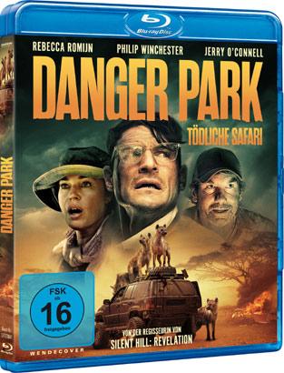 Danger Park Blu-ray Cover