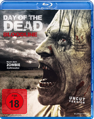 Day of the Dead: Bloodline Blu-ray Cover