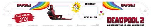Deadpool 2D Brille Variante 2