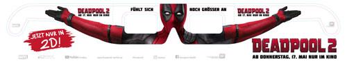 Deadpool 2 2D Brille Variante 1