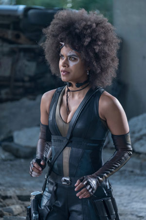 Deadpool 2 mit Zazie Beetz als Domino