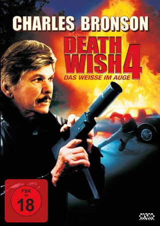 Death Wish 4 mit Charles Bronson DVD Cover